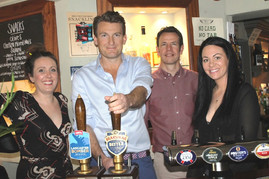 Called to the bar - Brakspear chief pulls pints for charity