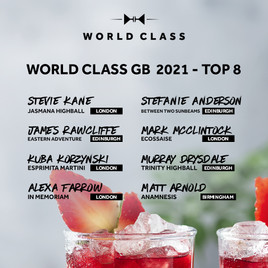 Diageo World Class Competition Reveals Top Eight GB Finalists
