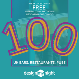 Free Hospitality Marketing Offered for the DesignMyNight 100