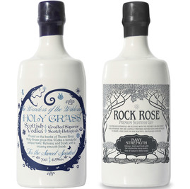 World Awards for Holy Grass Vodka and Rock Rose Gin