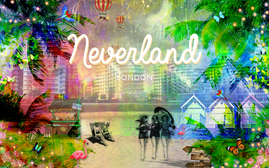 Escape to Neverland London - Fulham's first Thameside beach launches this May - a BYOB alfresco drin