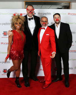 Troxy Turns Red For The Comic Relief Gala Ball