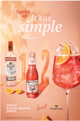 """Smirnoff Partners With Fever-Tree in Support of """"Spritz Up"""" Campaign This Summer"""
