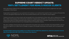 Supreme Court Verdict – NDML Press Statement