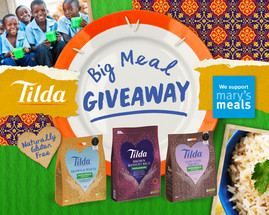 Tilda Continues To Support Mary's Meals Through COVID-19 and Reaches 198k Milestone