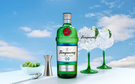 The Bartenders' Favourite Gin Brand Launches Tanqueray 0.0% Alcohol Free Spirit