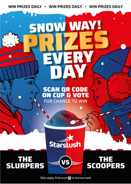 Vimto Out of Home Brand Starslush Extends Biggest Ever Promotion