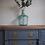 Thumbnail: Edwardian sideboard painted grey wooden top