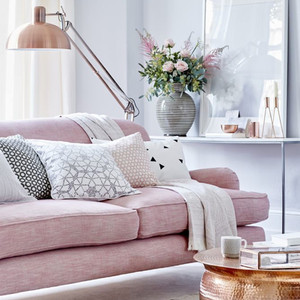 On Wednesdays we wear Damask: Pink interiors