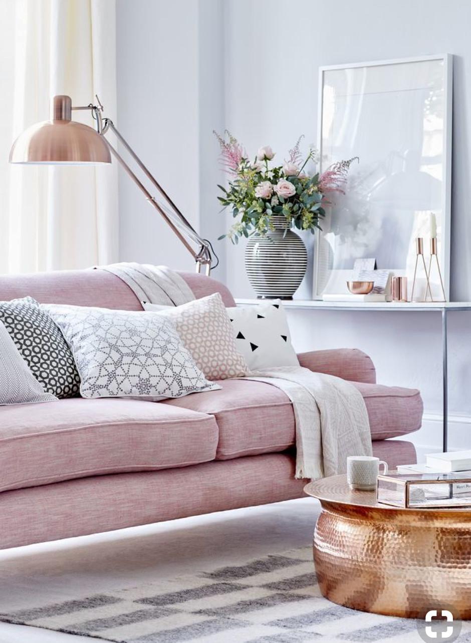On Wednesdays we wear Damask: Pink interiors
