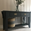 Thumbnail: Solid wooden ash black console table