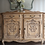 Thumbnail: Large heavily carved Louis xv style vintage French sideboard in limed oak