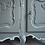 Thumbnail: French oak Louis XV tv unit - low sideboard