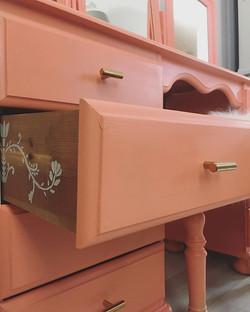 Adding some cute detail on the inner drawer.jpg