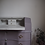 Thumbnail: Vintage writing bureau in purple and gold