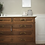 Thumbnail: 20th century French Louis Xv Oak chest of drawers marble top