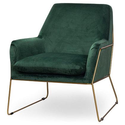 Flynn Emerald Green Armchair