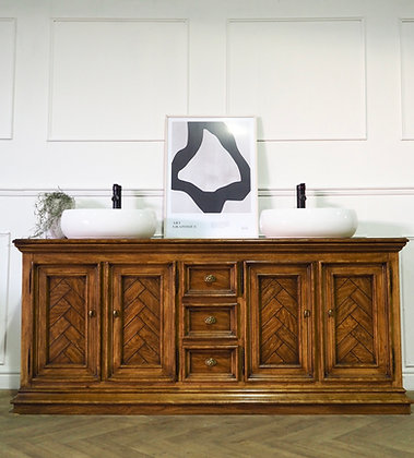 Double vanity Drexel Sideboard Washstand Sink Unit