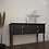 Thumbnail: Vintage console table in ash wooden legs