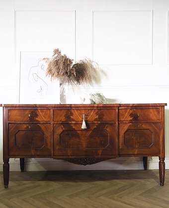Large 19th century Antique Mahogany Sideboard