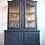 Thumbnail: Large French Louis xv Oak Glass Cabinet in Black