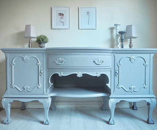 Large French blue / grey sideboard