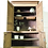 Thumbnail: Large antique French Kitchen Larder Unit Cupboard in raw wood