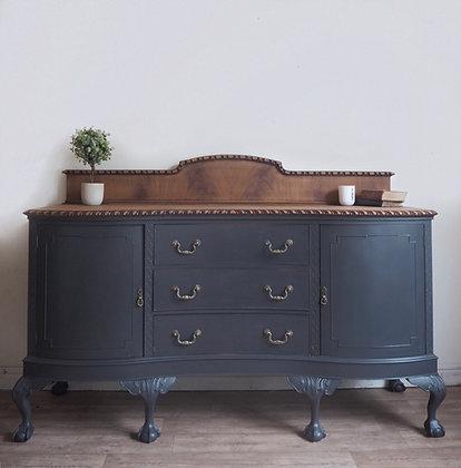 Large very heavy mahogany sideboard