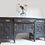 Thumbnail: Large antique walnut sideboard available to paint