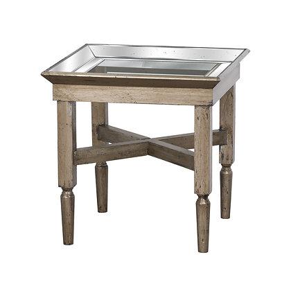 Astor Glass Side Table