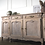 Thumbnail: Large french vintage sideboard in limed oak