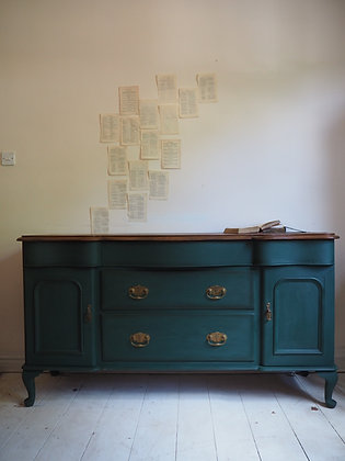 Large green sideboard
