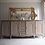 Thumbnail: Large antique french Louis XV Sideboard with a wooden top in a taupe stone cream