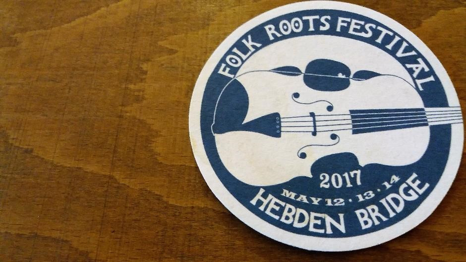Folk Roots Festival Beer Mat