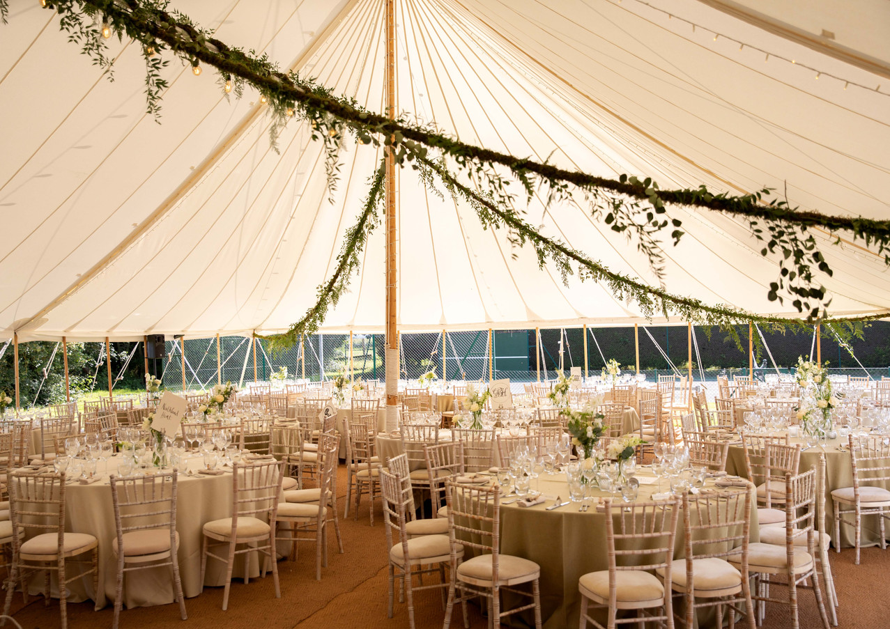 SAGE & CO - P&T marquee wedding