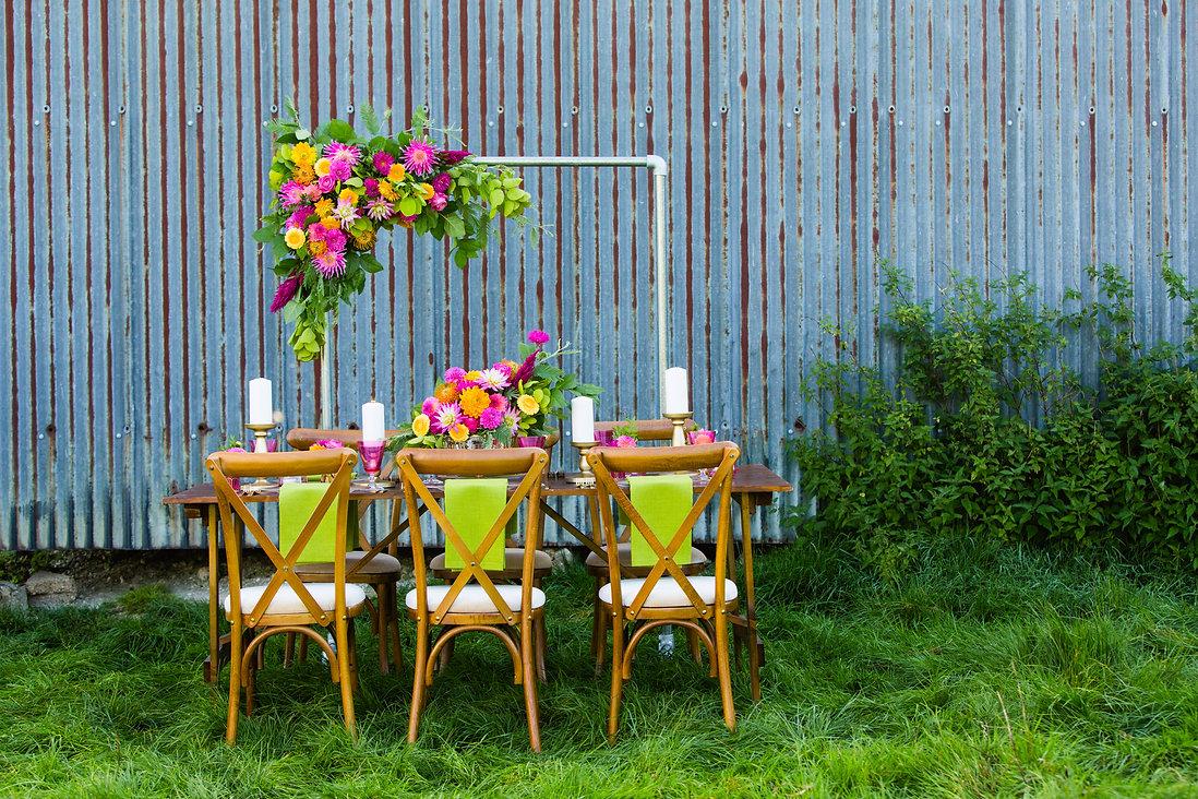 Sage & co floral design colourful indian summer flowers