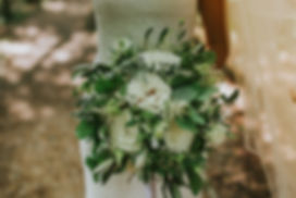 Sage & Co floral design white and green bridal bouquet - kirsty Mackenzie