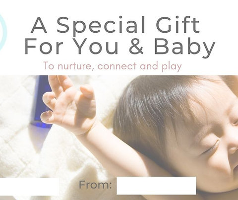 Virtual Baby Massage Gift Voucher
