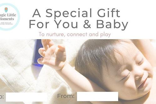 Virtual Baby Massage Gift Voucher
