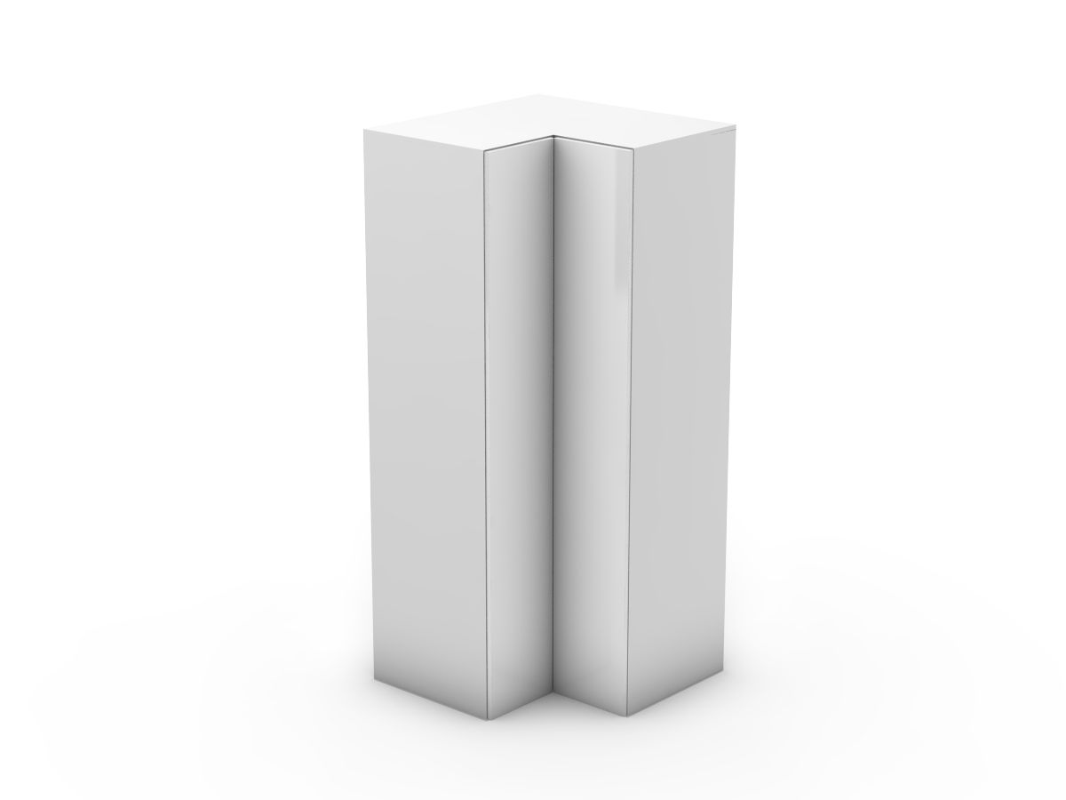 POLY DOORS - CORNER PANTRY - BI FOLD DOORS - WALK IN (CWIP900-BF)