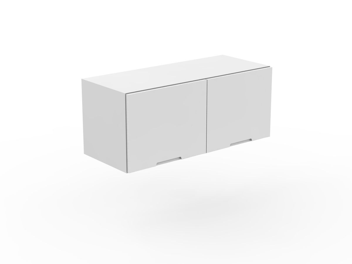 INTEGRATED HANDLE - FRIDGE CABINET - 2 DOORS (WF600-2)