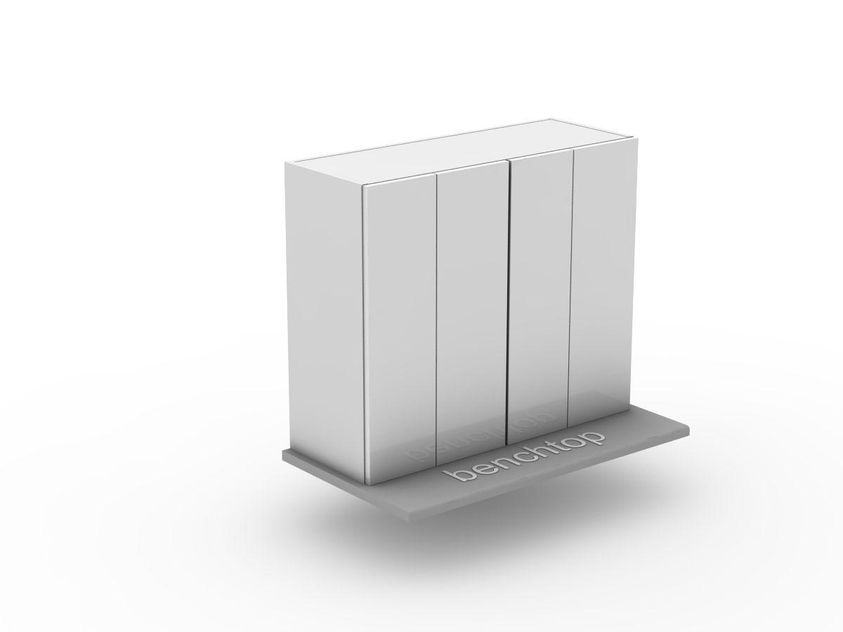 POLY DOORS - 2 SET BI FOLD - BENCHTOP APPLIANCE CABINET (OB600BF-2)