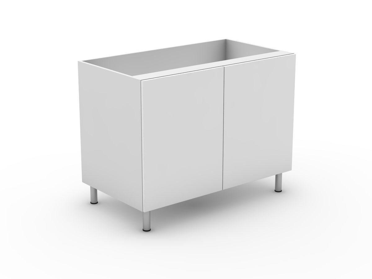 POLY DOORS - 2 DOOR BASE CABINET (B2)
