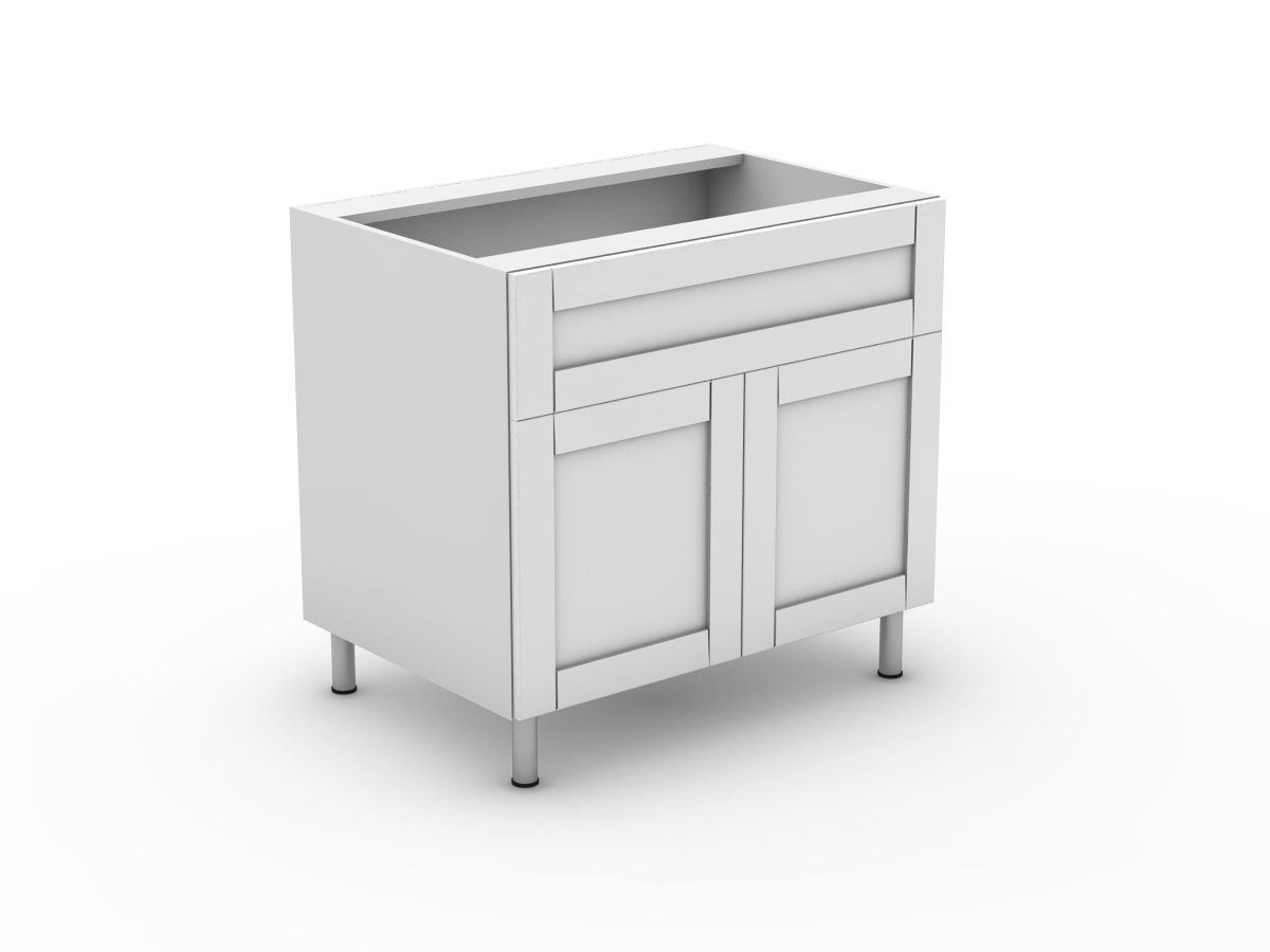 HAMPTION - 1 SINK DRAWER + 2 DOORS (B900S-21MB)