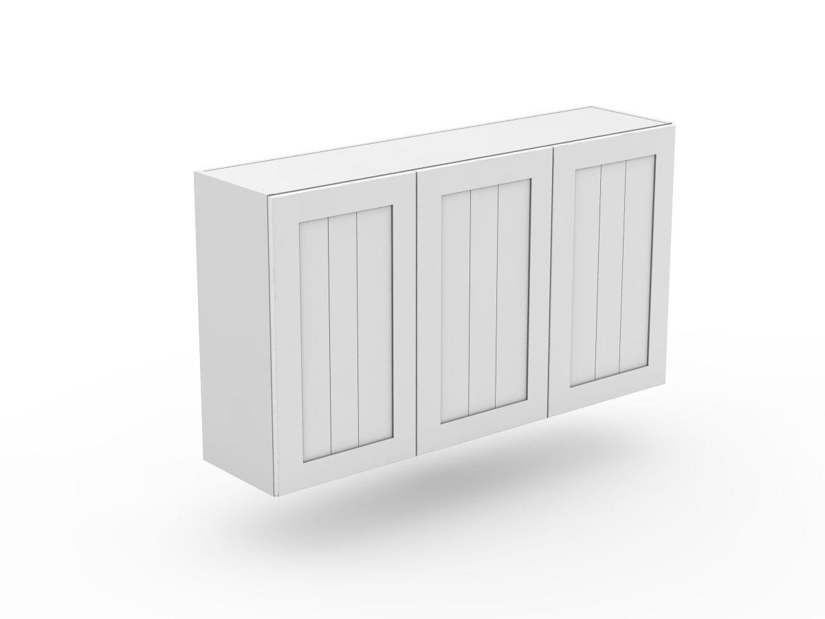 PROVINCIAL - 3 DOOR TOP CABINET (W800-3)
