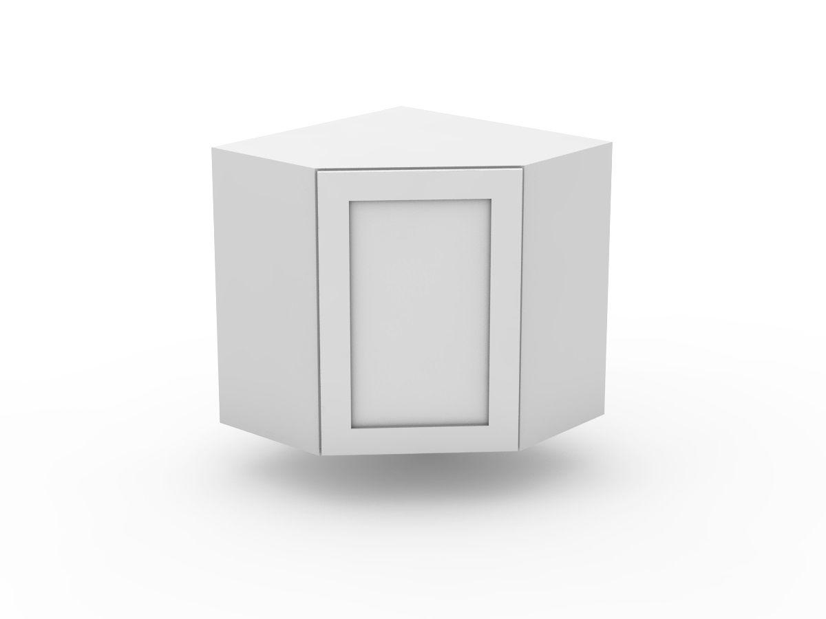SHAKER - TOP CORNER CABINET - ANGLED DOOR (WCD600-1)