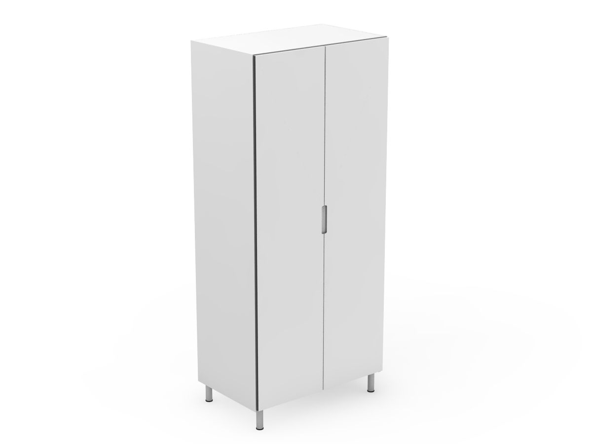 INTEGRATED HANDLE - 2 DOOR PANTRY (P400-2)