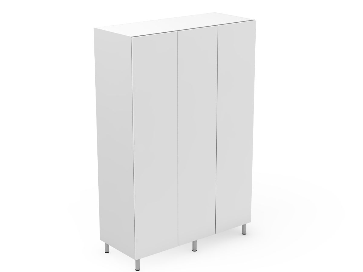 POLY DOORS - 3 DOOR PANTRY (P600-3)