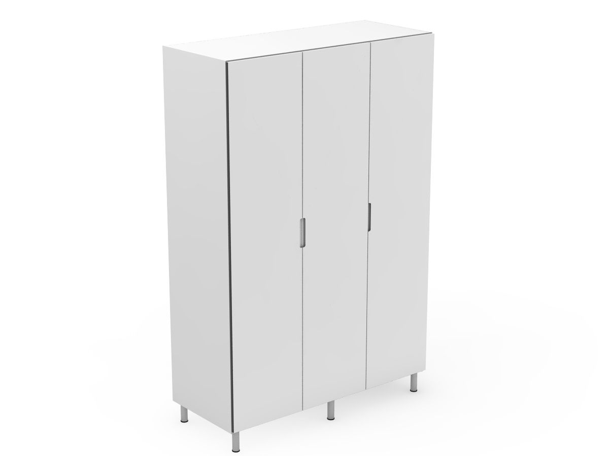 INTEGRATED HANDLE - 3 DOOR PANTRY (P600-3)