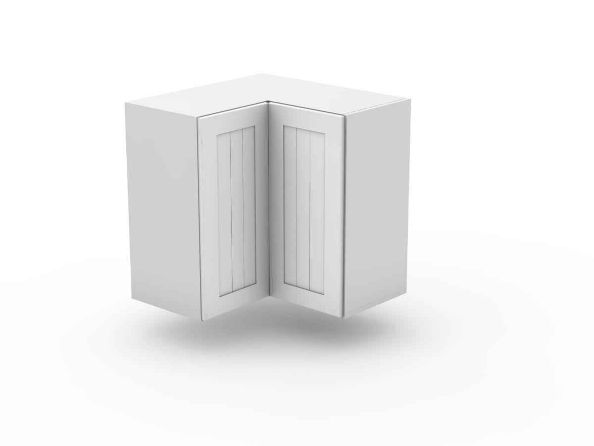 PROVINCIAL - TOP CORNER CABINET - BI FOLD (WC600-BF)